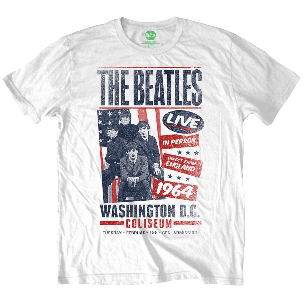 Beatles - Coliseum Poster (White)