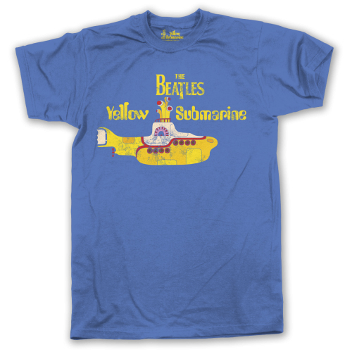 Beatles - Yellow Submarine (Blue)