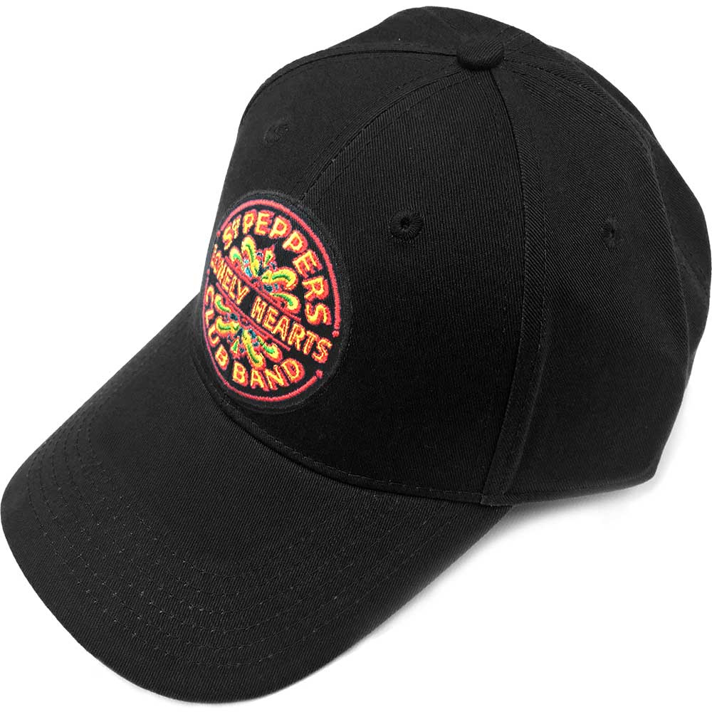 Beatles - Sgt. Pepper (Black Baseball Cap)