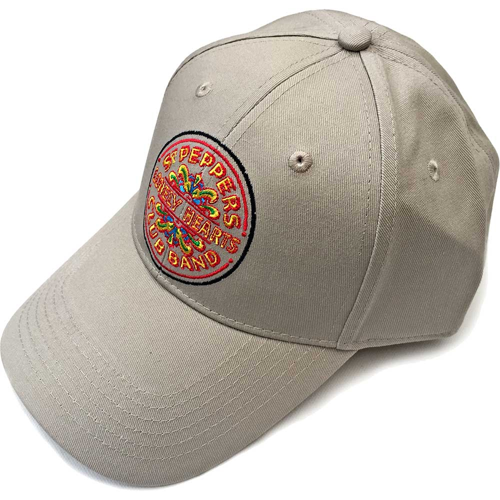 Beatles - Sgt Pepper Drum (Sand Baseball Cap)