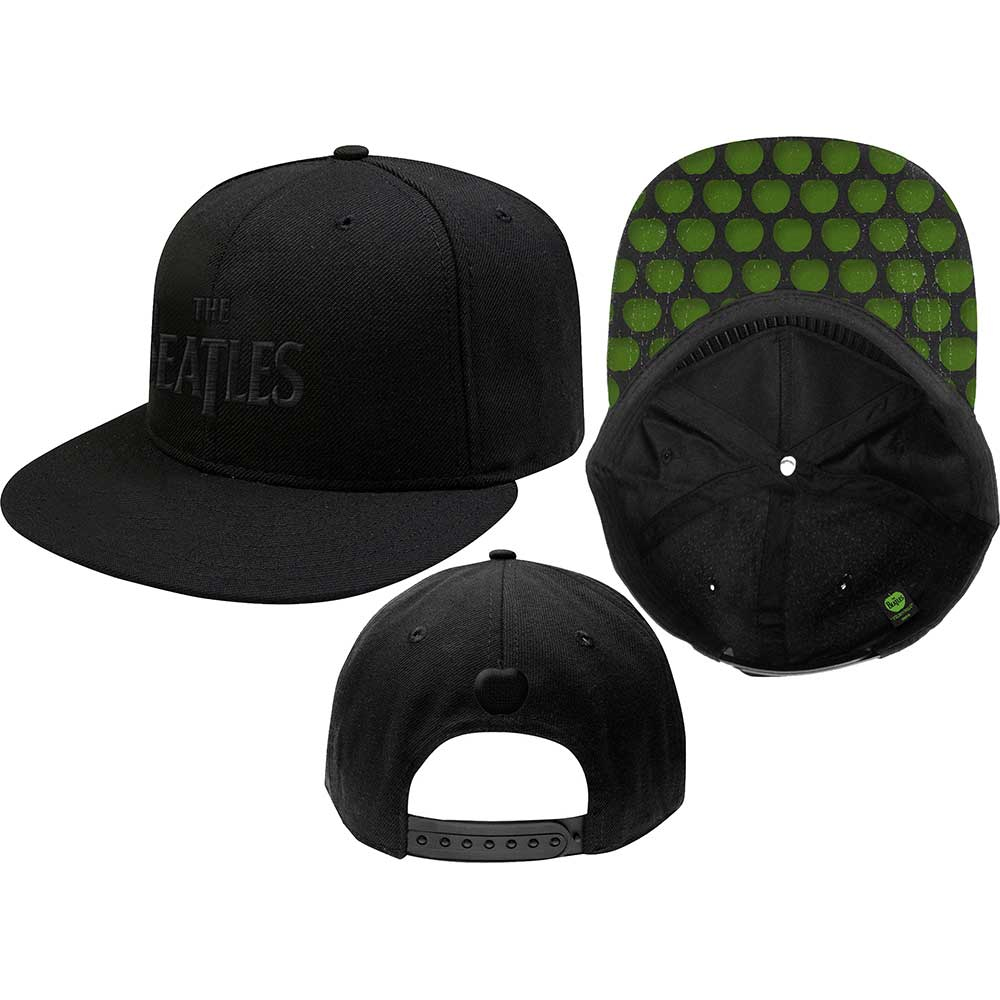 Beatles -  Drop T Logo (Snap Back)