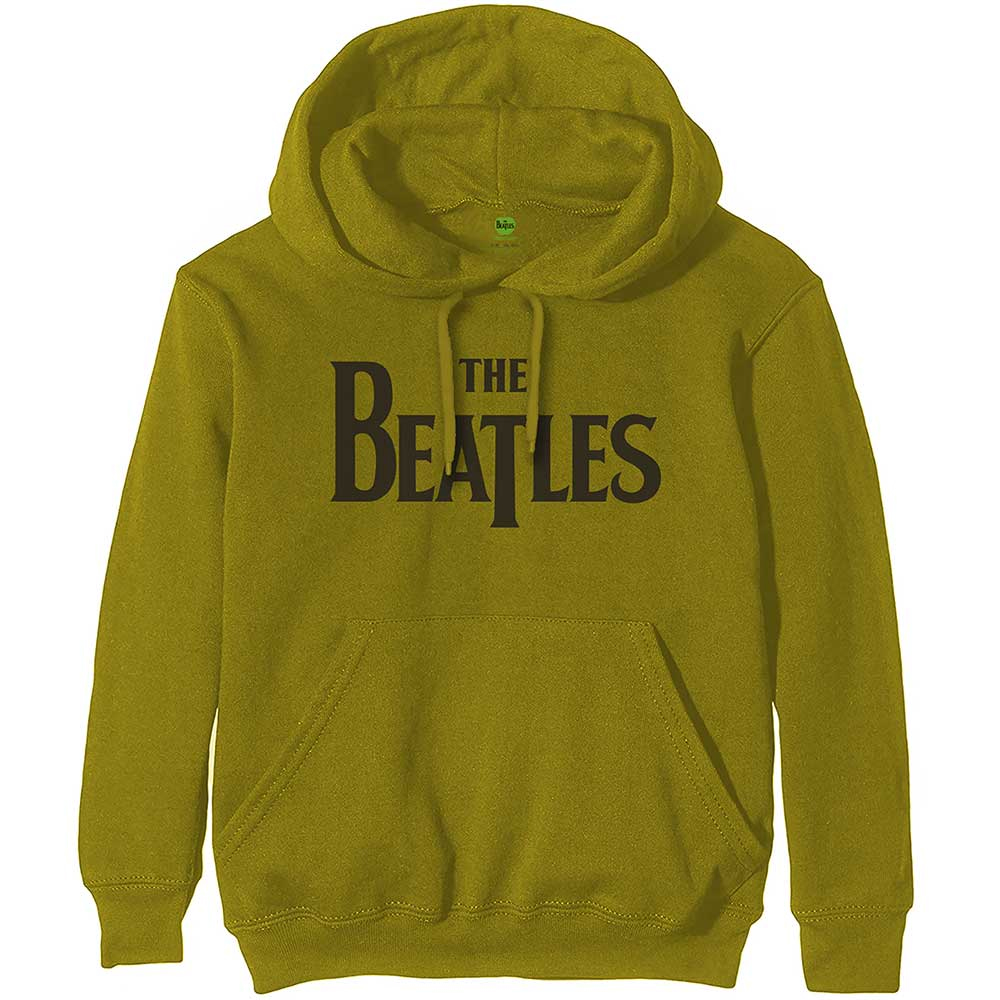Beatles - Drop T Logo (Green) (Hoodie)