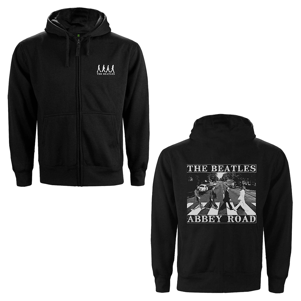 Beatles - Abbey Road (Back Print) (Zip Hoodie)