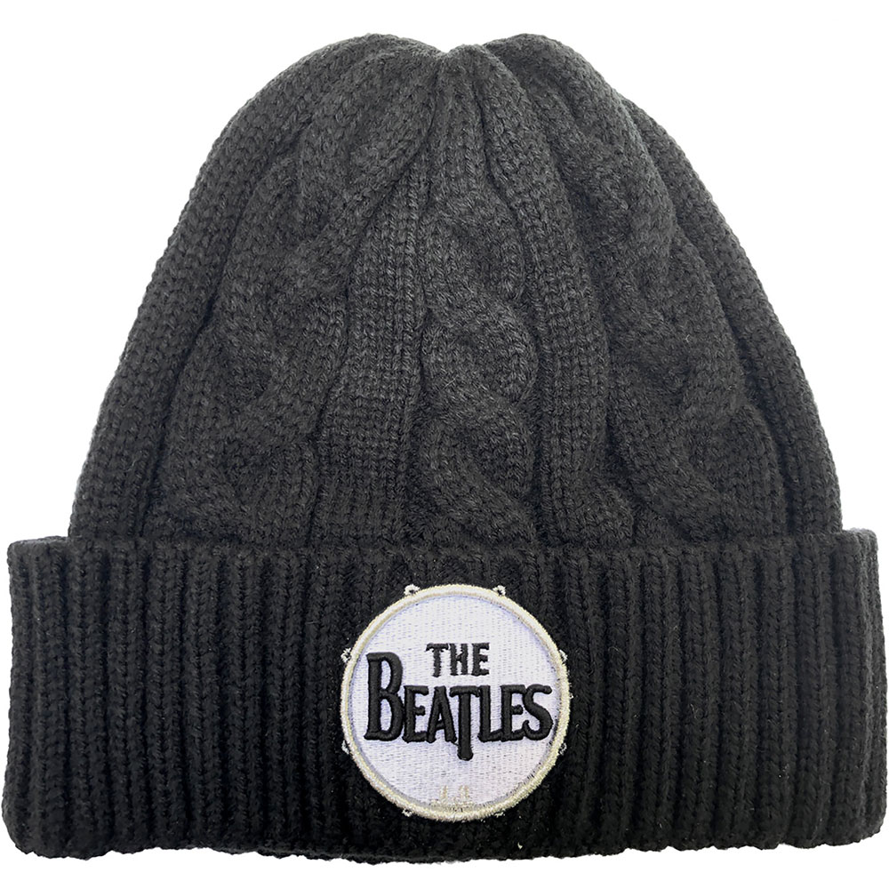 Beatles - Drum Logo (Cable Knit)