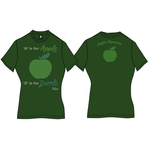 Beatles - A is for Apple (Back Print) Green
