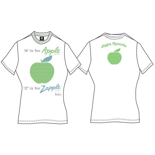 Beatles - A is for Apple (Back Print) White