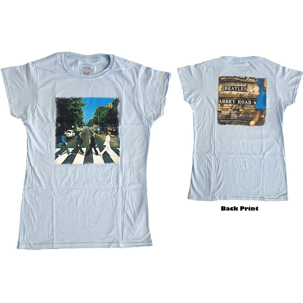Beatles - Abbey Road (Back Print) Blue