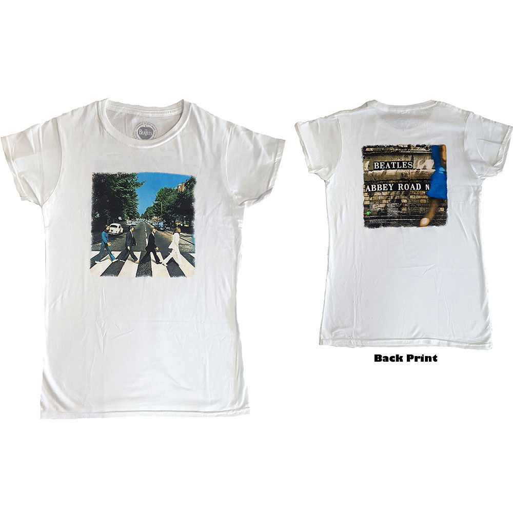 Beatles - Abbey Road (Back Print) White