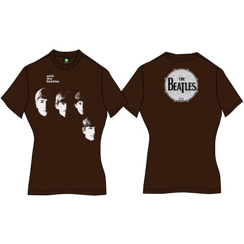 Beatles - With The Beatles (Back Print) Brown