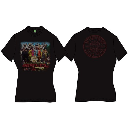 Beatles - Sgt Pepper (Back Print) Black
