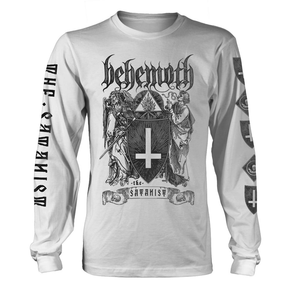 Behemoth - The Satanist (White Longsleeve)