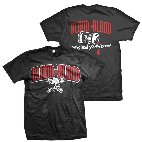 Blood For Blood - Wasted Youth Brew (Black)
