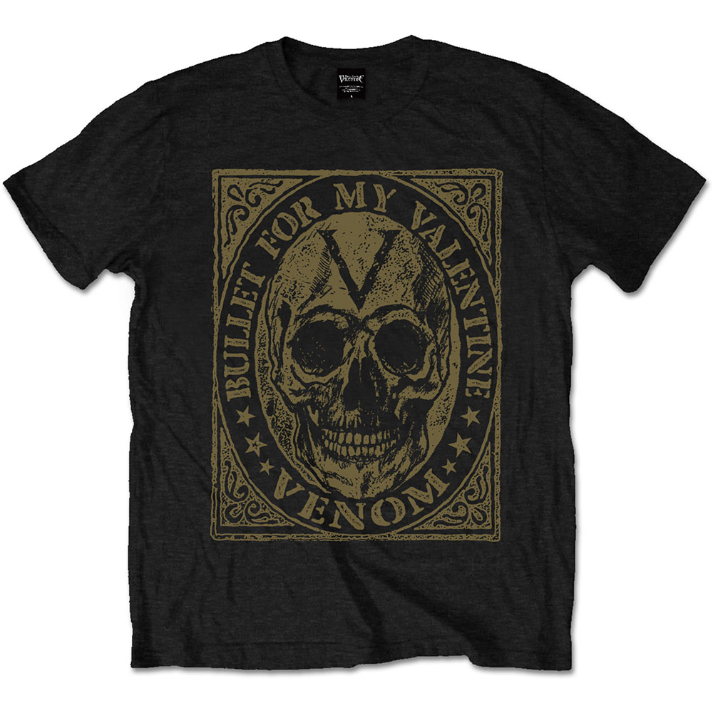 Bullet For My Valentine - Venom Skull (Black)