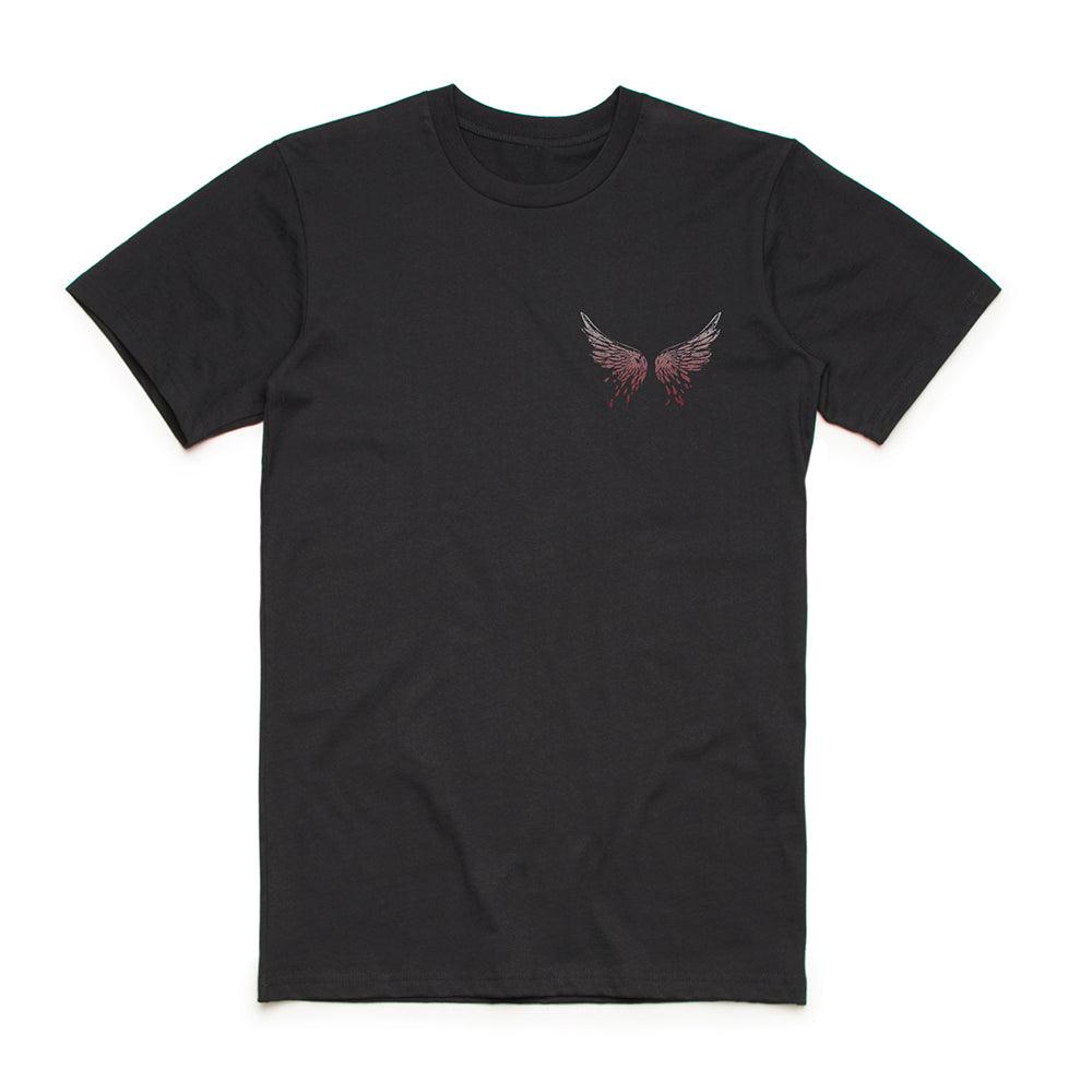 Bullet For My Valentine Skull Mock T Shirt