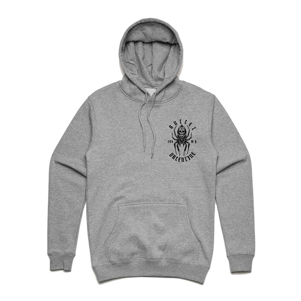 Bullet For My Valentine - Spider Hoodie (Grey)