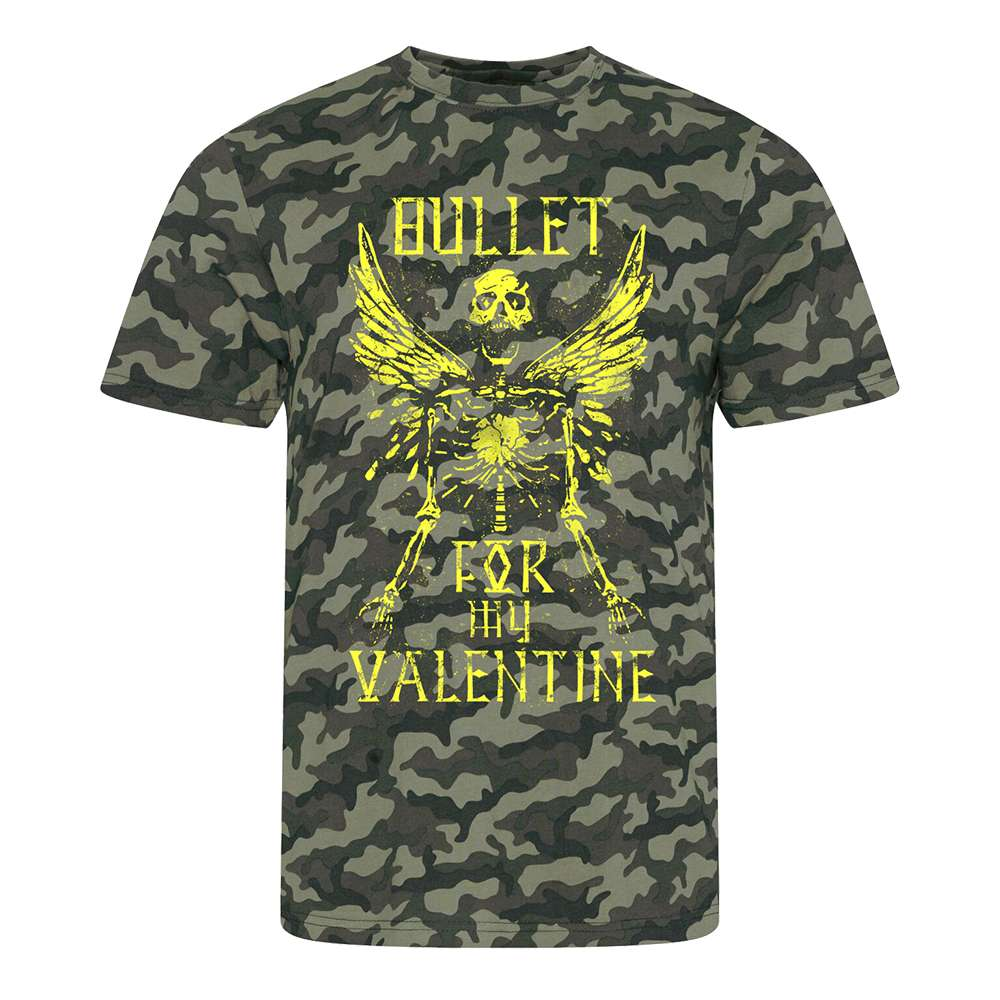 Bullet For My Valentine - Skeleton Camo