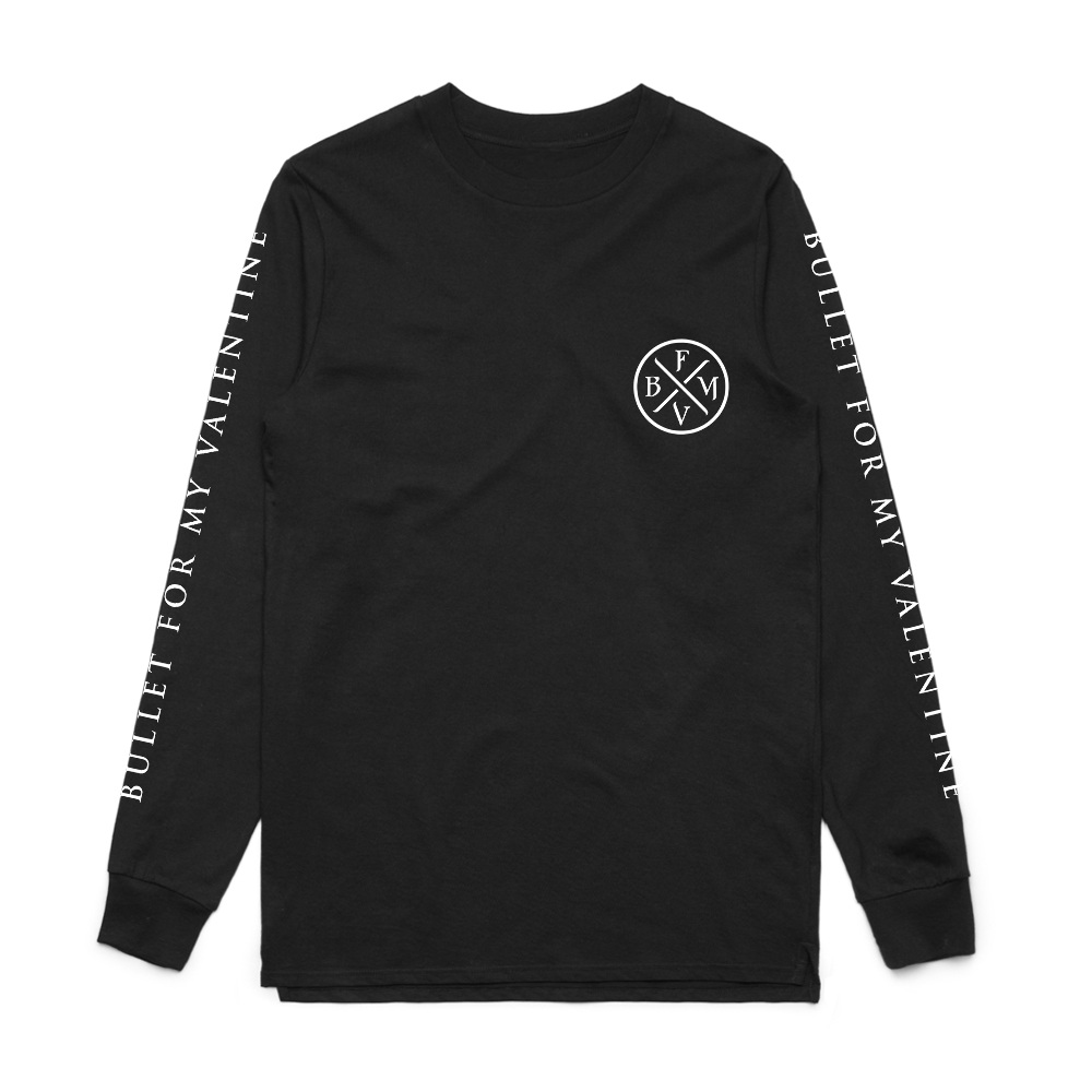Bullet For My Valentine - BFMV Logo (Long Sleeve T-Shirt)