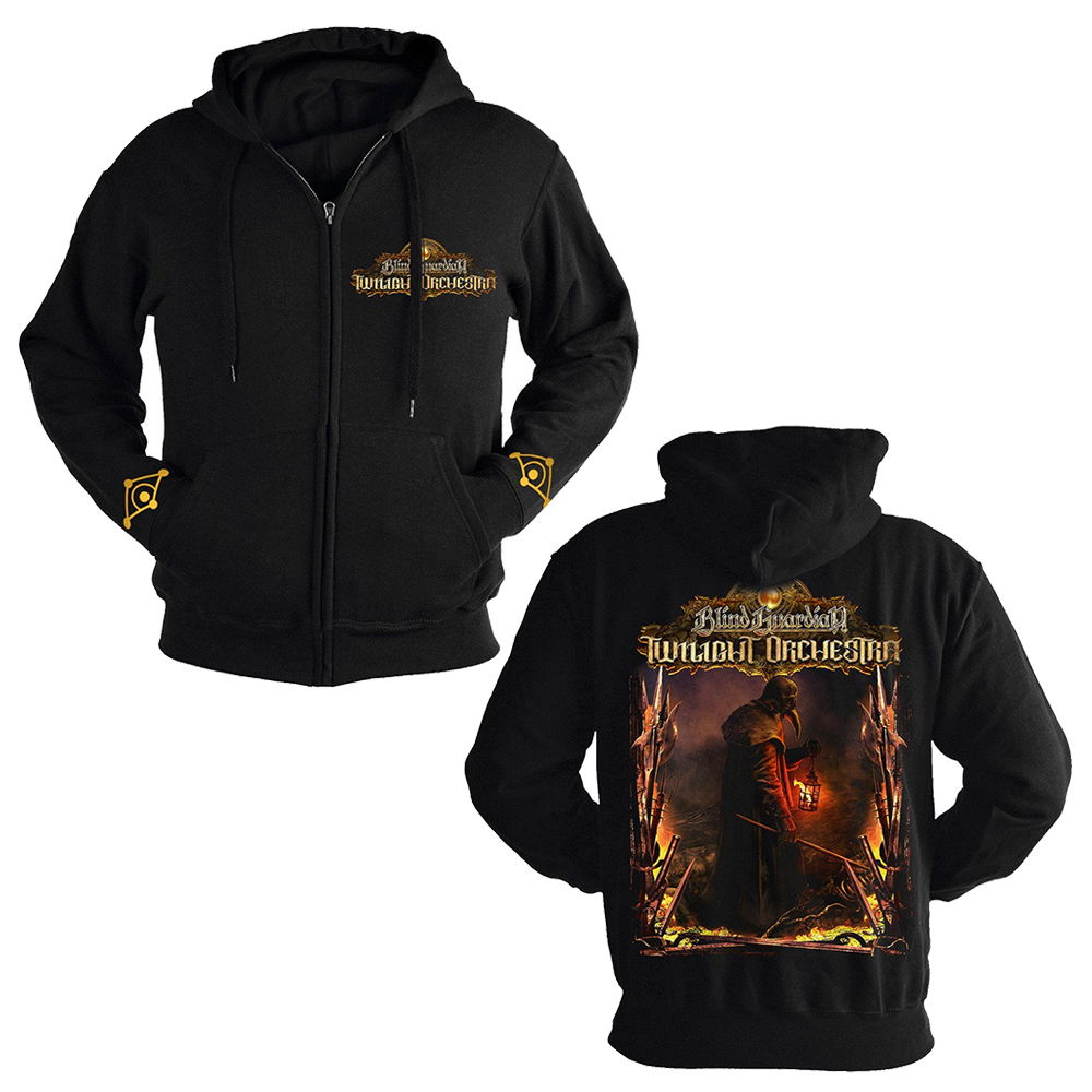 Blind Guardian Twilight Orchestra - War Machine (Zip Hoodie)