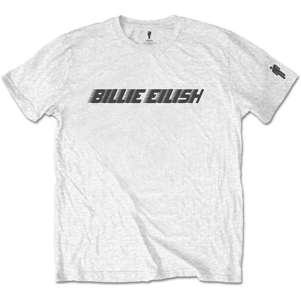 Billie Eilish - Black Racer Logo (Sleeve Print)