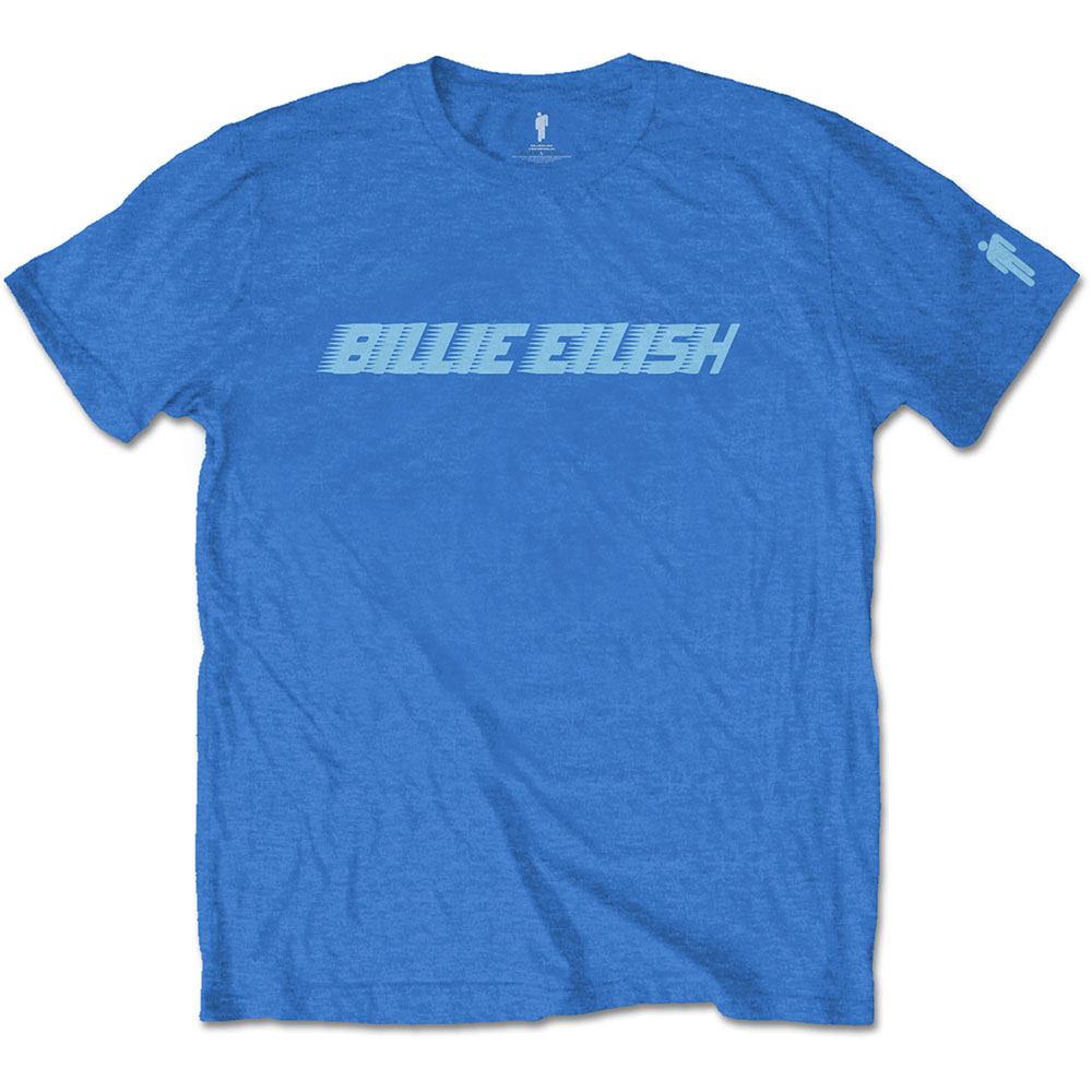 Billie Eilish - Blue Racer Logo (Sleeve Print)