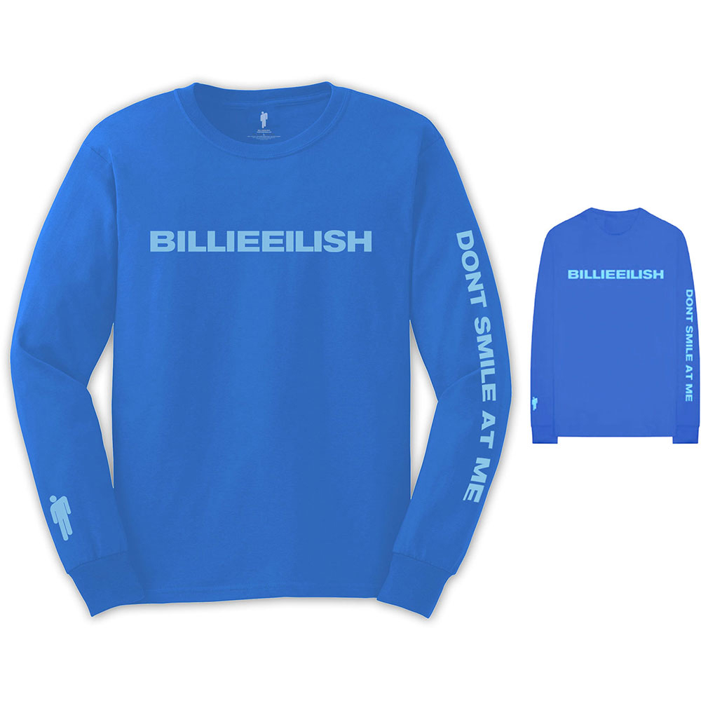 Billie Eilish - Smile (Back & Arm Print Longsleeve)