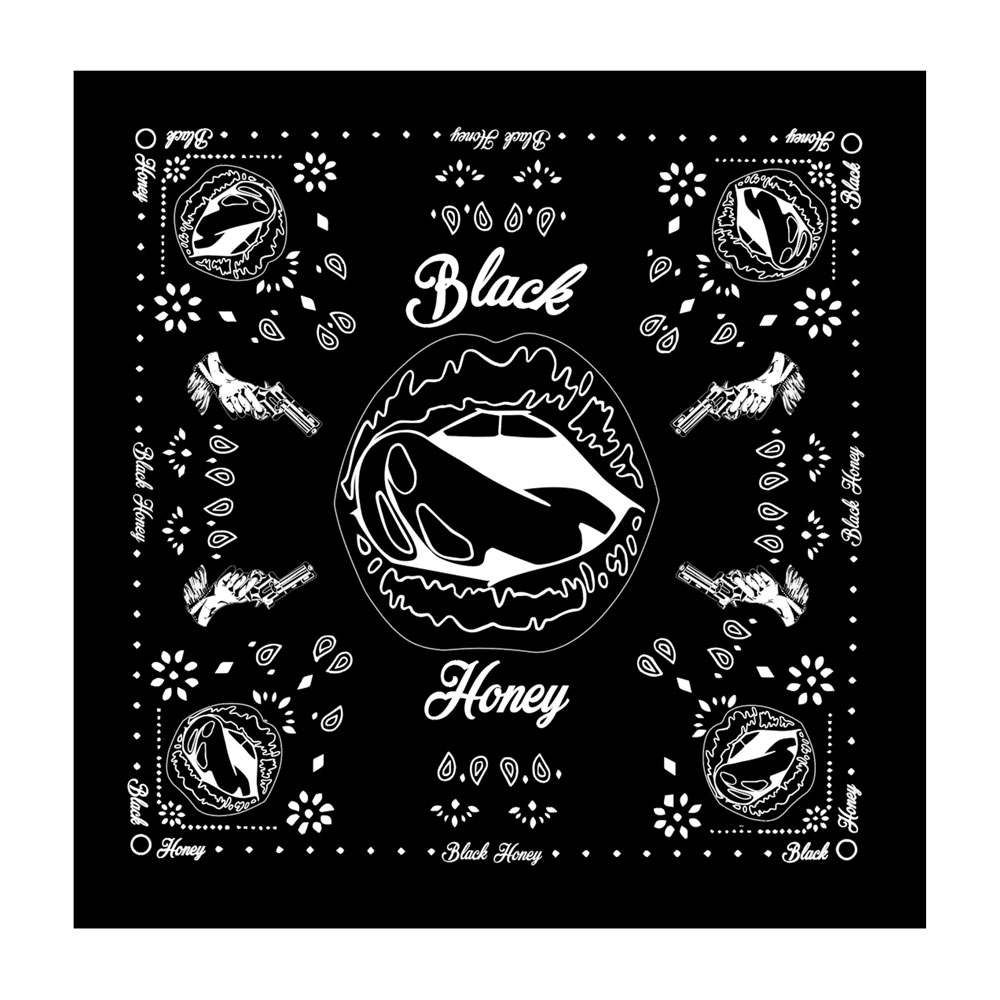 Black Honey - Bandana (Black)