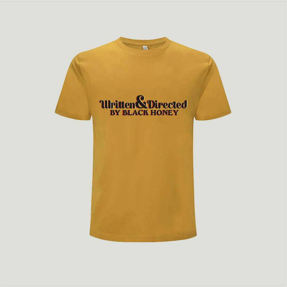 Black Honey - Written & Directed Mustard T-Shirt