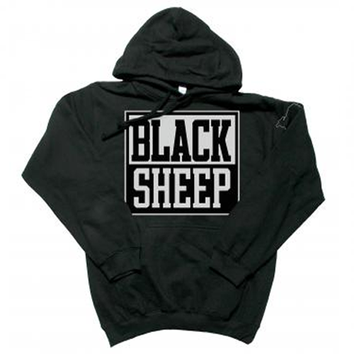 Black Sheep - Block Logo - Hoodie