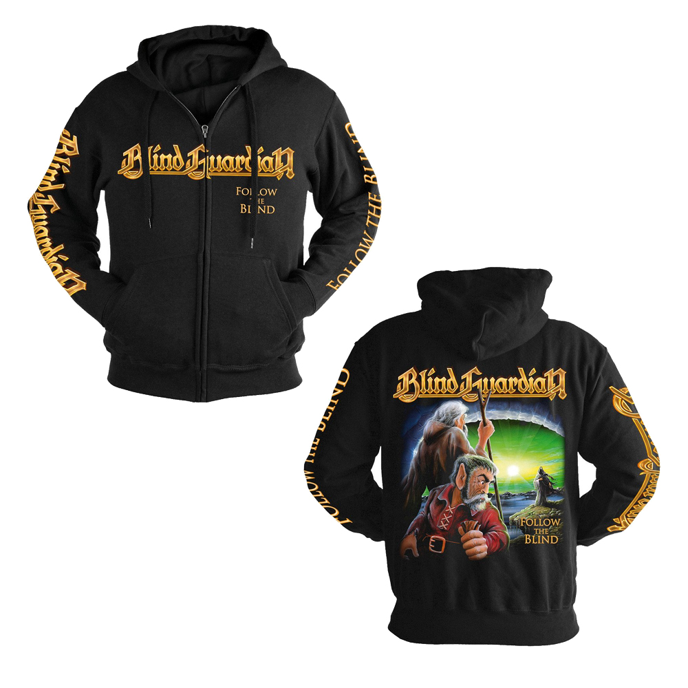 Blind Guardian - Follow The Blind Classic (Zip Hoodie)