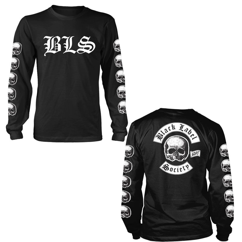 Black Label Society - Logo (Longsleeve)