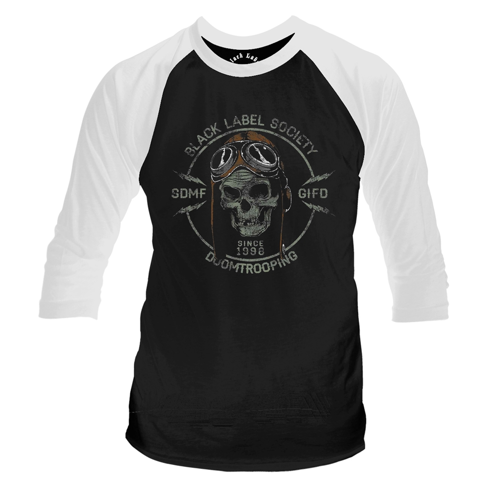 Black Label Society - Doomtrooping (Baseball Shirt)