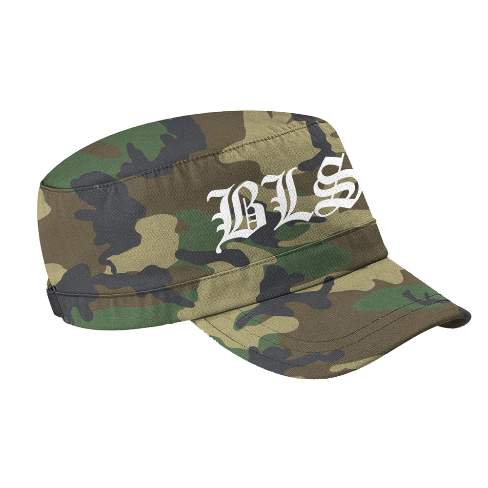 Black Label Society - Logo (Camo Army Cap)