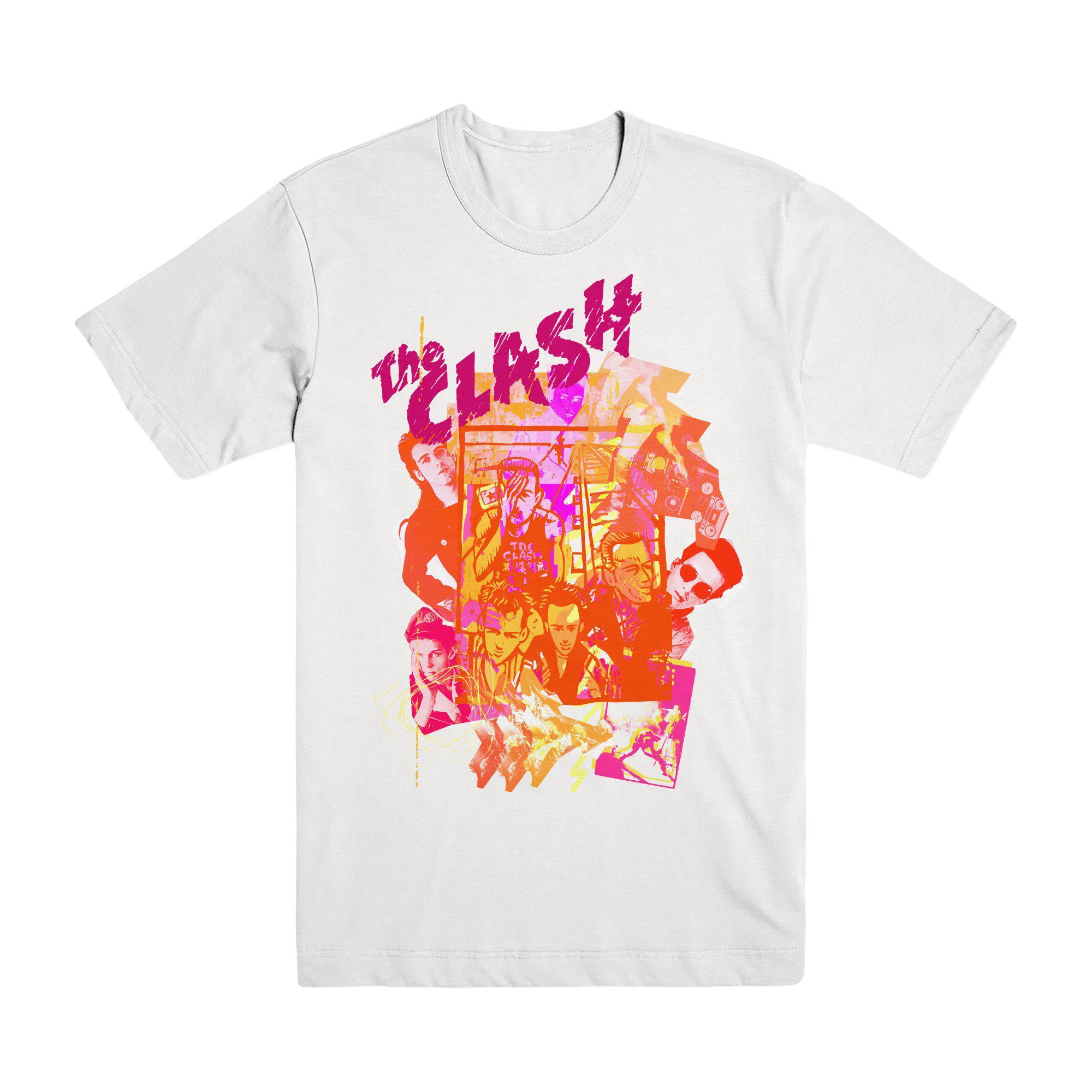 Black Market Clash - Animation White T-Shirt