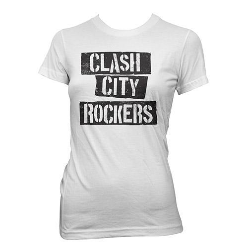 Black Market Clash - Clash City Rockers Ladies T-Shirt