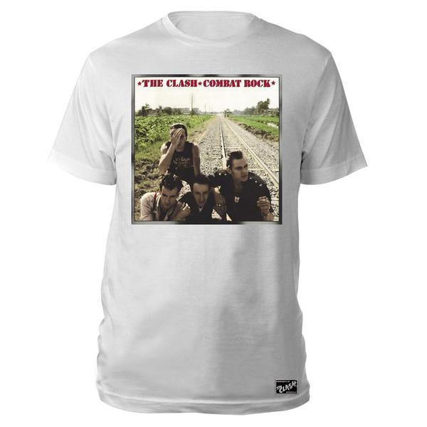 Black Market Clash - Combat Rock White T-Shirt