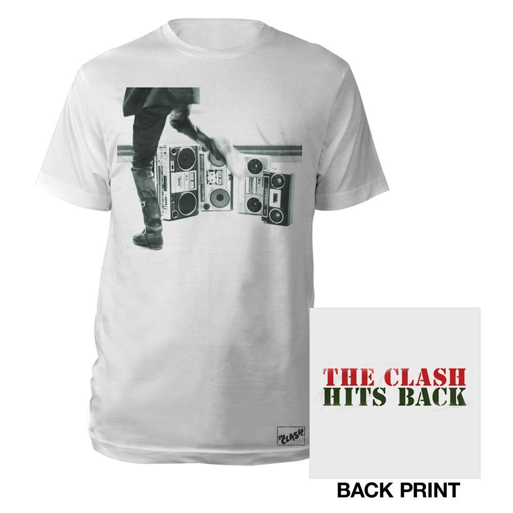 Black Market Clash - Hits Back Text T-Shirt