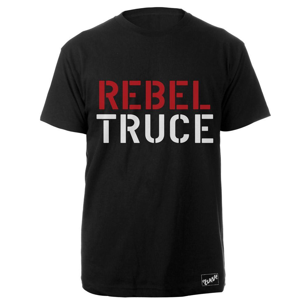 Black Market Clash - Rebel Truce Black T-Shirt