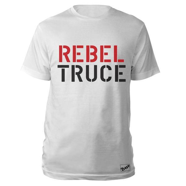 Black Market Clash - Rebel Truce White T-Shirt
