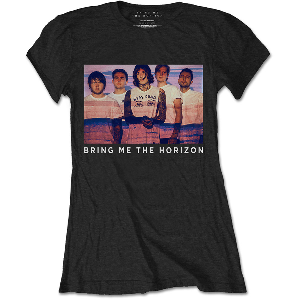 Bring Me the Horizon - Photo Lines (Women's) (Black)