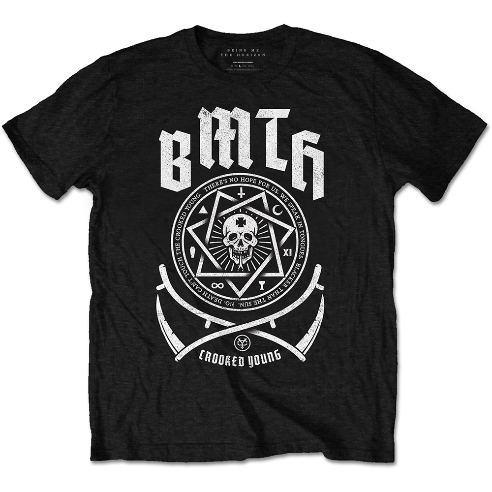 Bring Me the Horizon - Crooked (Black)