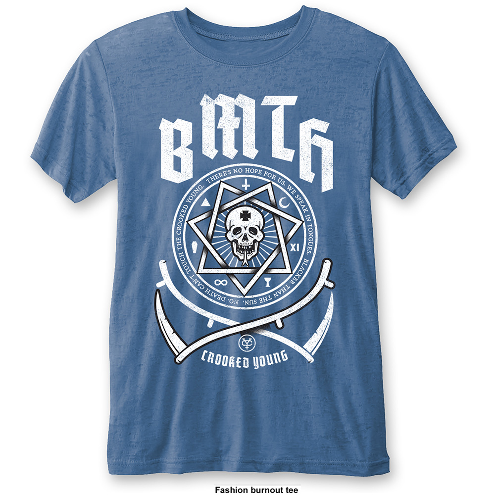 Bring Me the Horizon - Crooked Young Burnout (Blue)