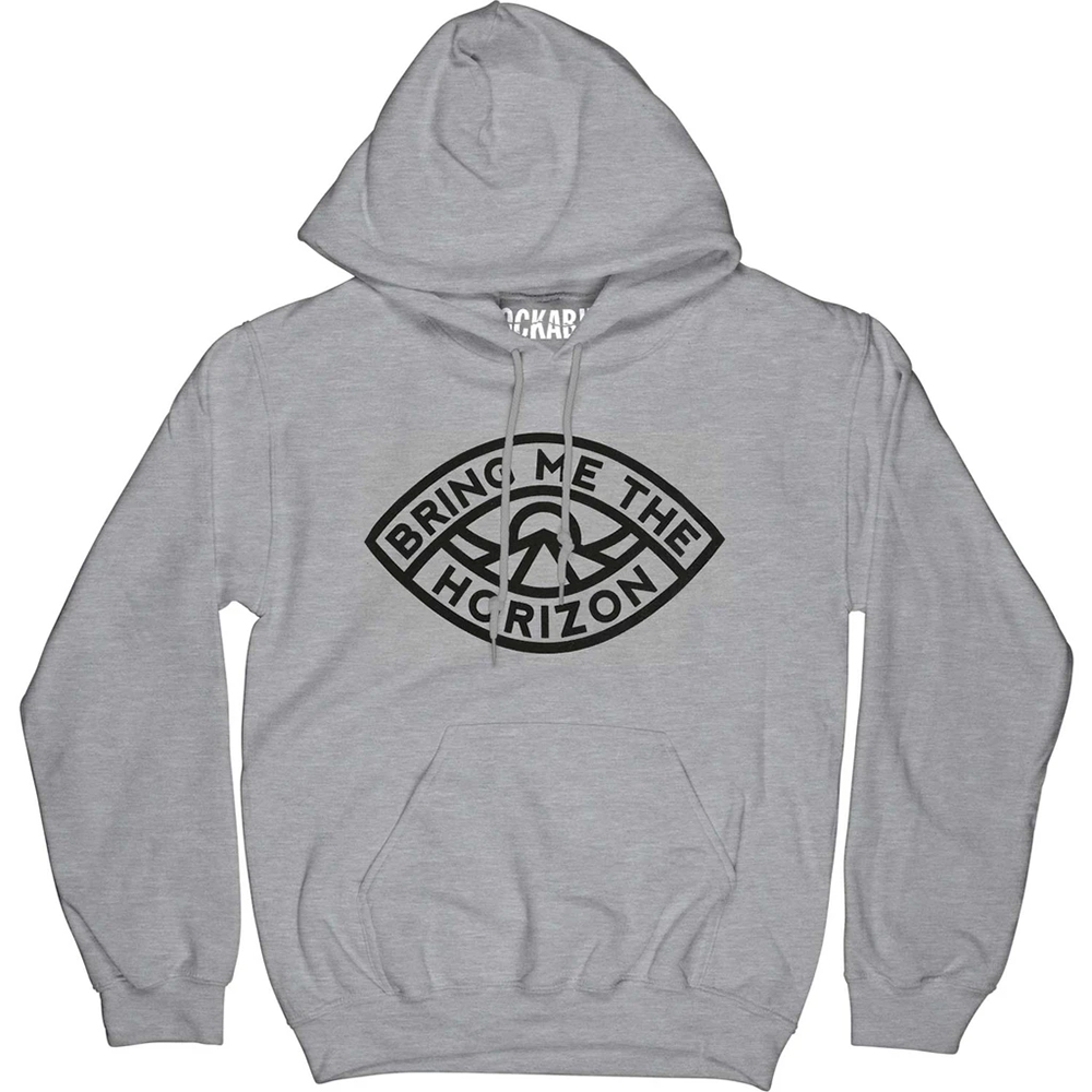 Bring Me the Horizon - Eye (Grey Hoodie)