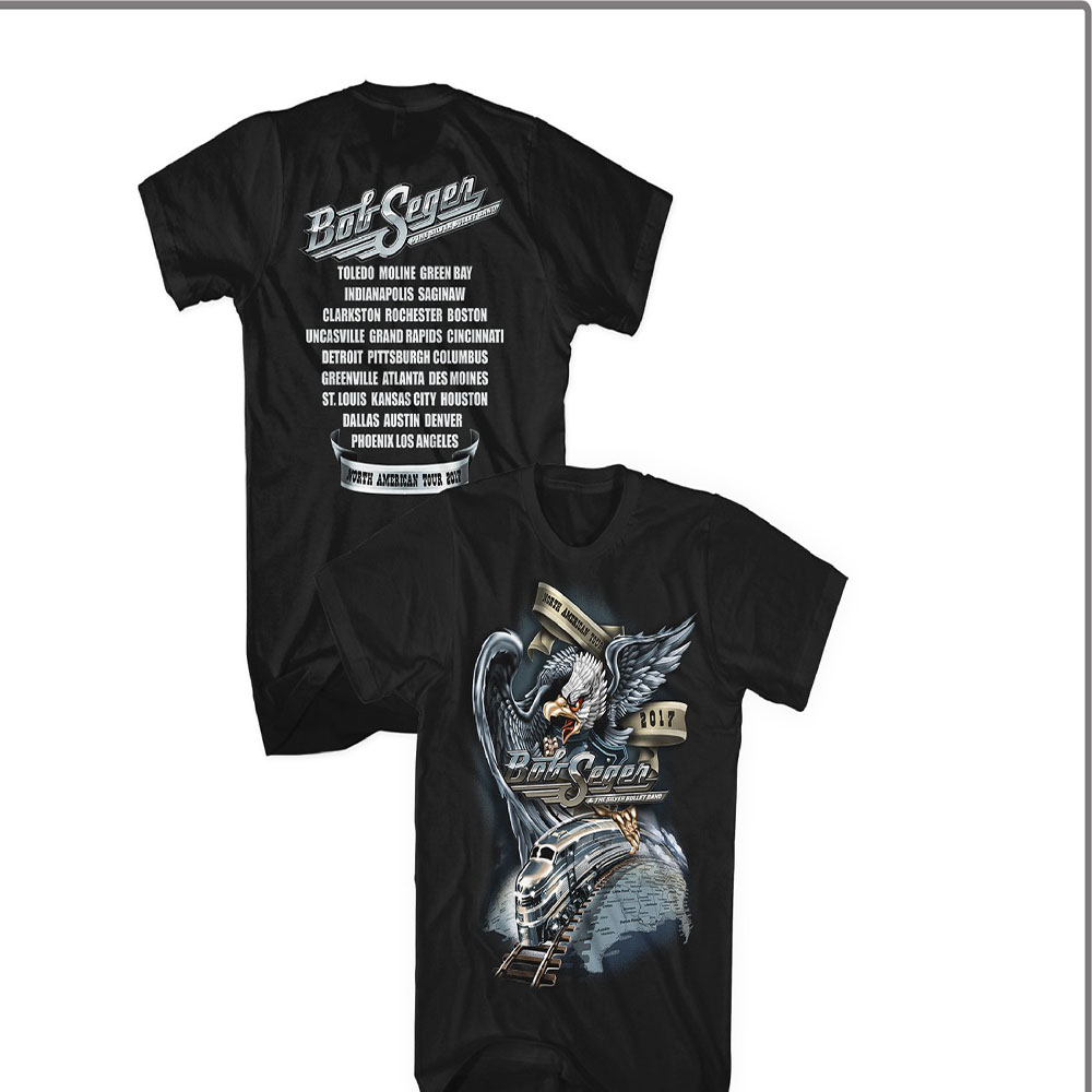 Bob Seger - Runaway Train Eagle (Black)