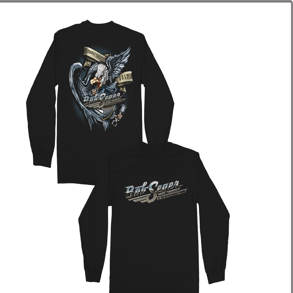 Bob Seger - Runaway Train Tour (Black)