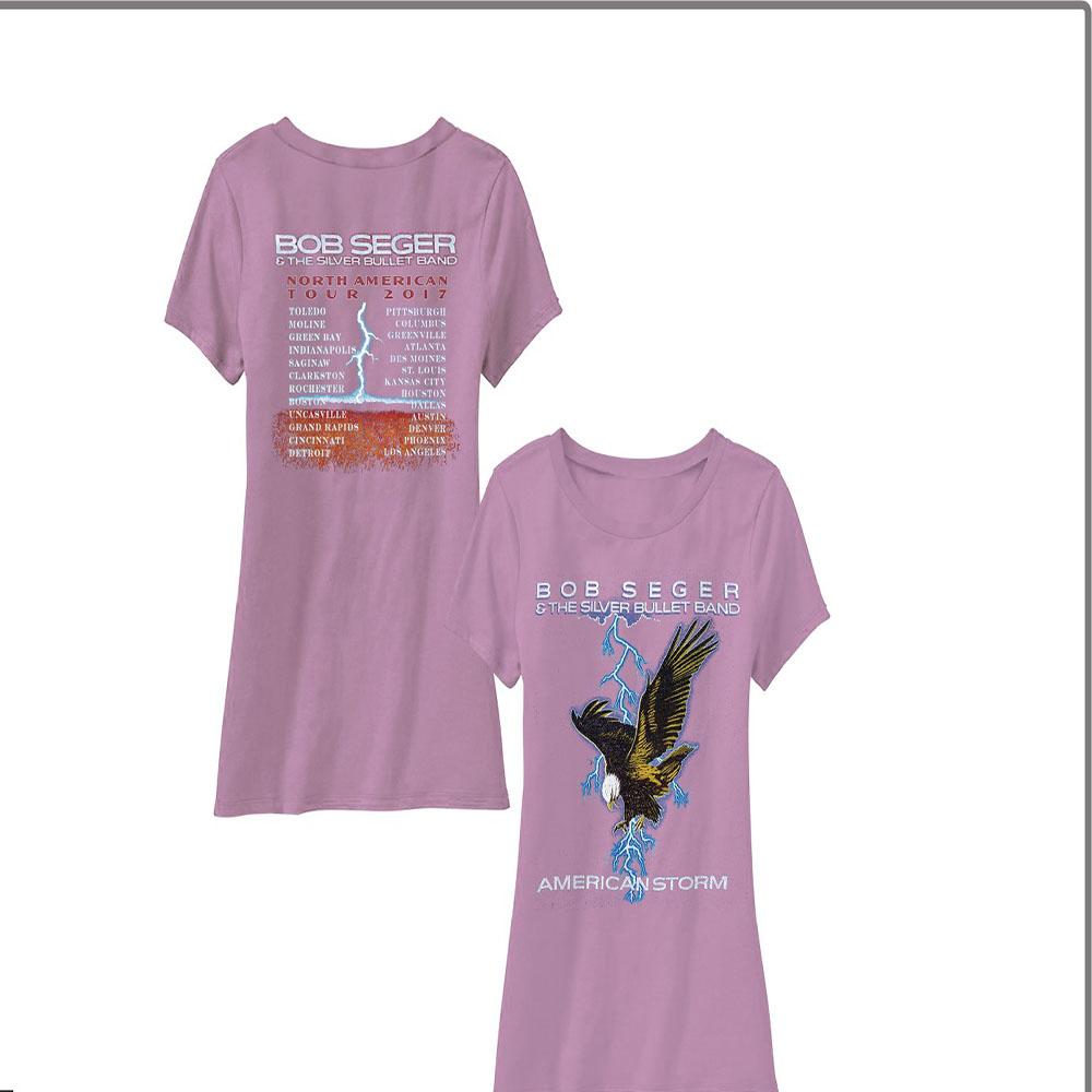 7cbfe1ffbd3 Bob Seger - American Storm (Pink)