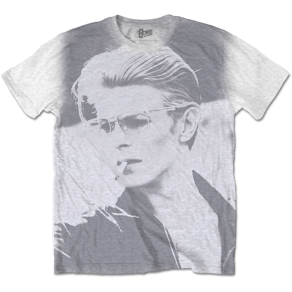 David Bowie - Wild Profile (White)