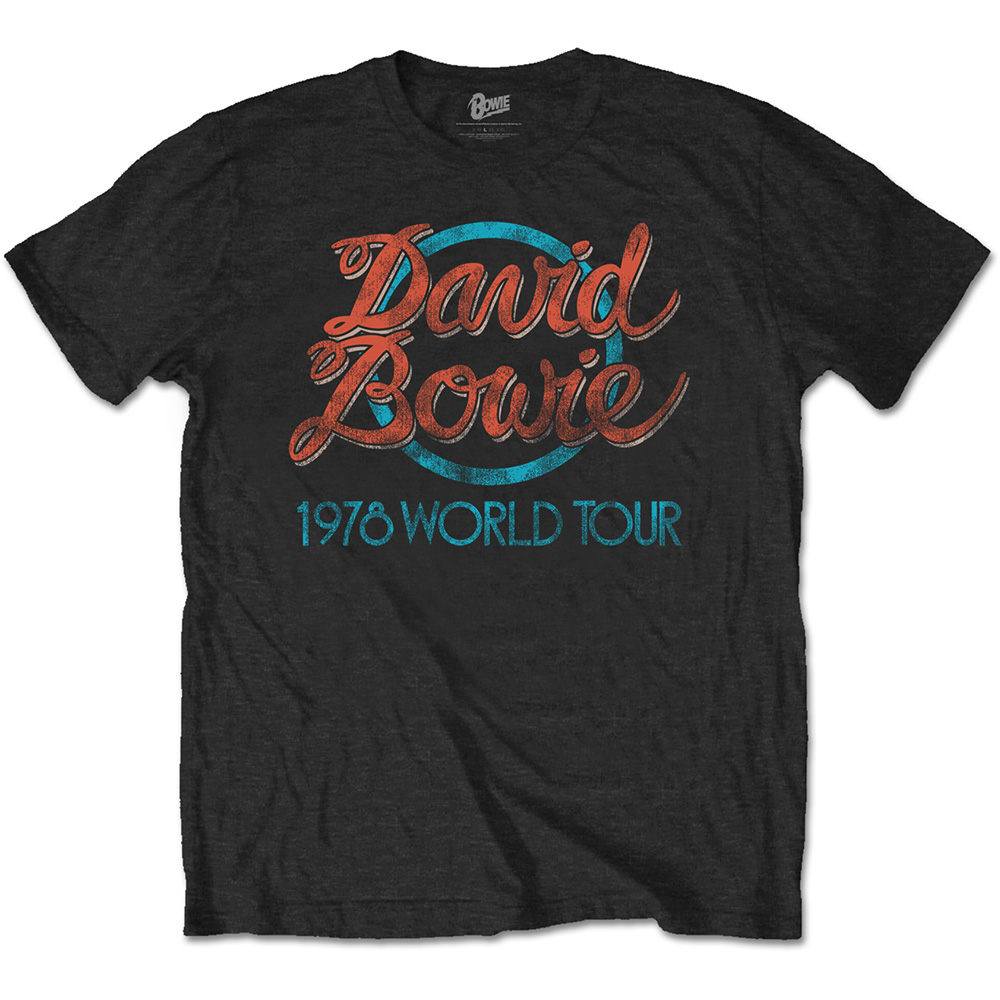 David Bowie - Special Edition: 1978 World Tour (Black)