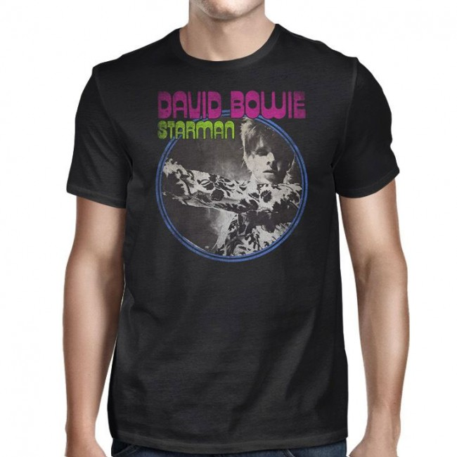 David Bowie - Starman (Black)