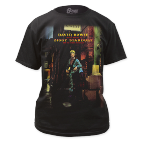 David Bowie - Ziggy Plays Guitar (Black)