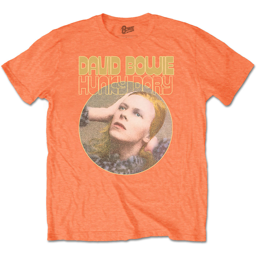 David Bowie - Hunky Dory Portrait (Orange)